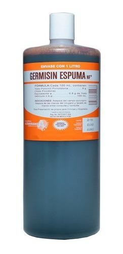 Desinfectante Espuma Antiséptica Yodopovidona Germisin 1 L