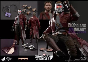 Starlord Guardians Of The Galaxy Hot Toys Star Lord Completo