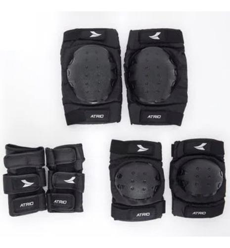 Imagem 1 de 4 de Kit Proteção Atrio Tamanho Único P/ 14+ Patins Roller Es269
