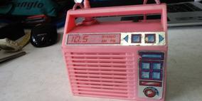 Radio De Brinquedo Estrela Não Testei , No Estado !