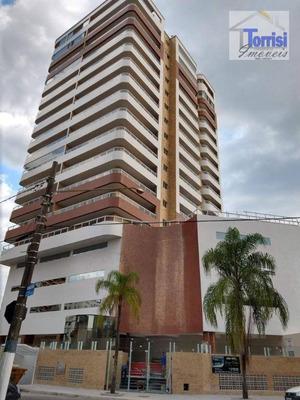 Apartamento Em Praia Grande, 01 Dormitórios, Sala Com Varanda Gourmet, No Bairro Guilhermina, Ap2120 - Ap2120