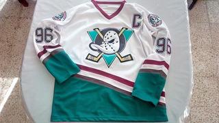 Jersey Hockey Nhl Mighty Ducks