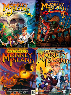 Monkey Island Saga Completa