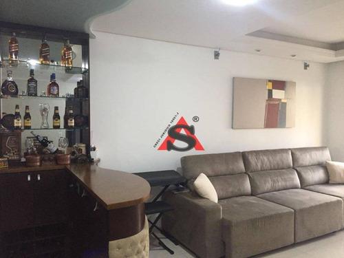 Apartamento Com 3 Dormitórios À Venda, 86 M² Por R$ 650.000,00 - Ipiranga - São Paulo/sp - Ap43574