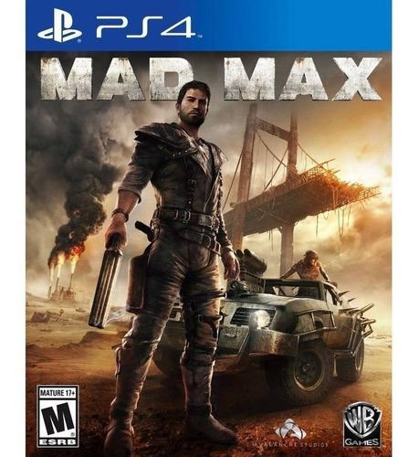 Imagen 1 de 1 de Mad Max  - Ps4 Fisico