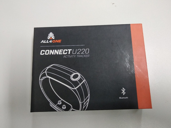 Pulseira Smart Band All4one Connect U220 Conta Passos