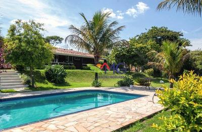 Chácara Residencial À Venda, Condomínio Portal Das Rosas, Atibaia. - Ch0098