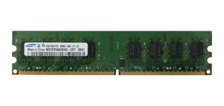 Memoria Ram Samsung 2gb Ddr2 Pc2-6400u 800mhz 240pin Para Pc