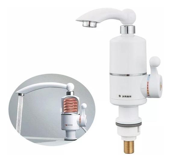 Canilla Calentador Electrico Agua Caliente Y Fria 3000w