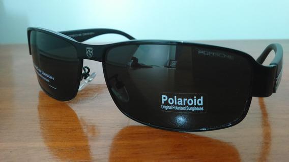 Óculos De Sol Porsche Design P8485 Black Pronta Entrega