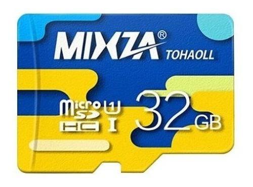 Micro Sd 32gb Classe10 Mixza Colormix Original+leitor Brinde