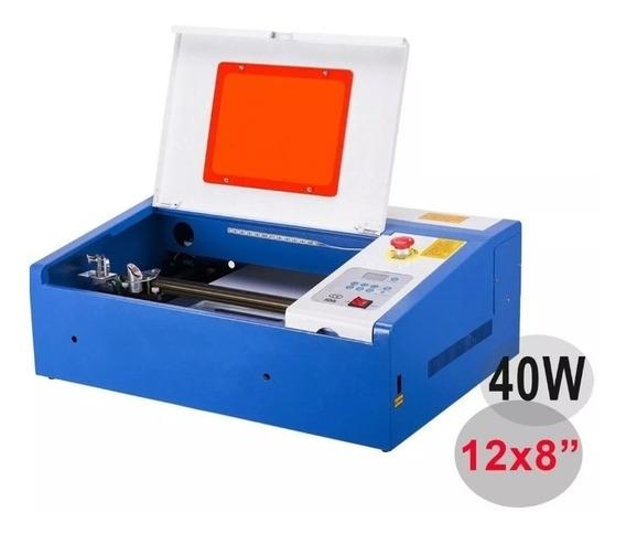 Maquina Laser Co2 40w Corte Y Grabado