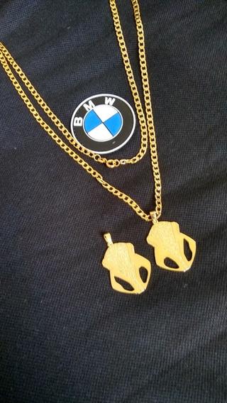Corrente Banhada A Ouro Da S1000rr Com A Frente Das Duas