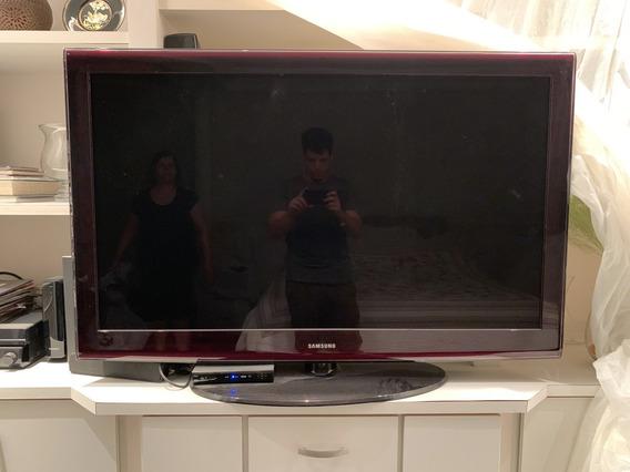 Tv Samsung 52 Polegadas Lcd Full Hd 1080p 52 Ln52a650a1f
