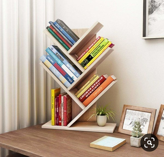 Librero De Escritorio. Fabricado De Madera De Pino