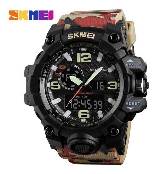 Relógio Masculino Skmei 1155 Série Especial Frete Grátis