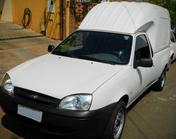 Ford Courier Rontan Box Van 1.6 2007 Conservada Baixa Km Top
