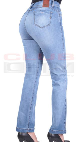 Pantalones Dama De Mezclilla Recto Cintura Mercadolibre Com Mx