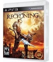 Jogo Kingdoms Of Amalur Reckoning Da Ea Games Para Ps3 Play3