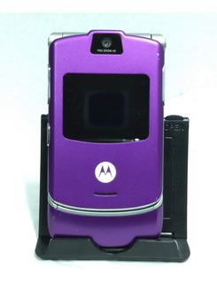 Celular Motorola V3 Roxo - Usado