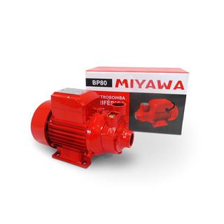 Bomba Periférica Elevadora Agua 1 Hp 45 L/min Turbina Bronce | Miyawa Bp80