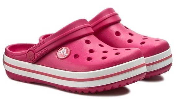Crocs Crocband Originales Raspberry White
