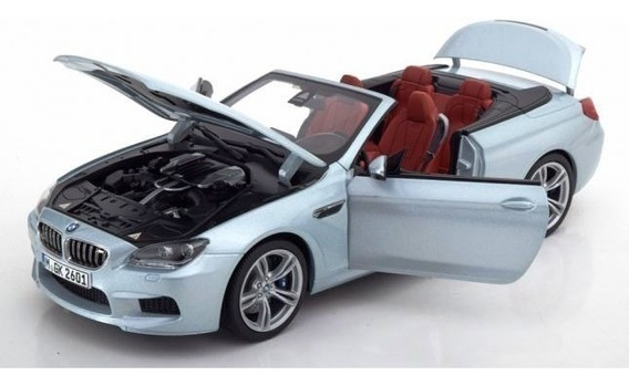 1/18 Bmw M6 F12 Cabrio 2012 Paragon Topminis Miniatura Metal