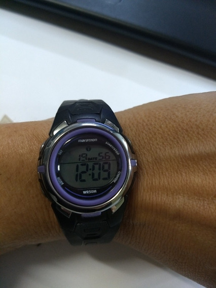 Relógio Digital Marathon Timex A Prova D