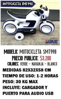 Motocicleta Version Tron Con Audio