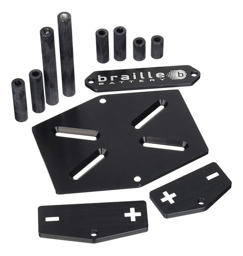 Soporte Para Batería De Aluminio Mt211 Braille