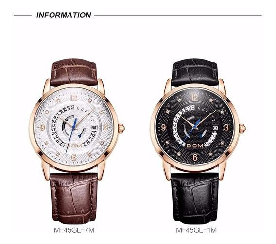 Relógio Dom 100% Original + Estojo.