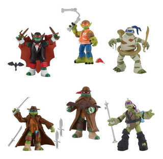 Tortugas Ninja Monsters Mutants Leonardo Michelangelo