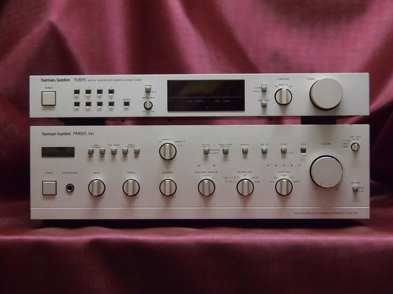 Harman Kardon Amplificador Pm665 Vxi + Tuner Tu915