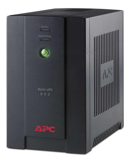 Ups Apc 800va 6 T Estabilizador Y Protector De Tension Gtia Oficial 2 Años Bx800 Para Tv, Play, Equipos De Audio