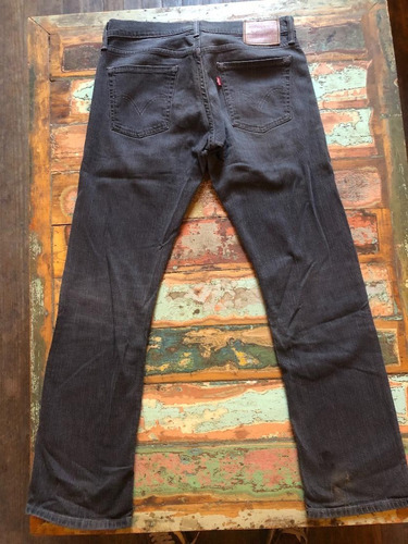 Jean Levis Gris Oscuro W32 L32 Made In Colombia Perf. Estado