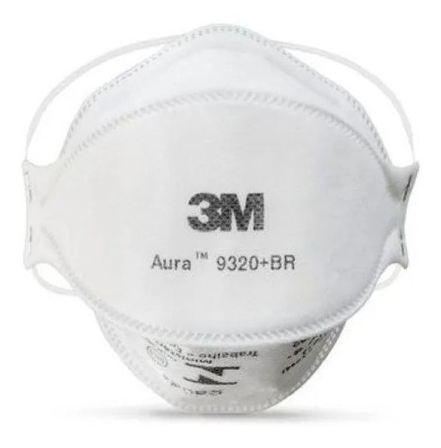 Máscara Respirador 3m 9320-aura Descartável - 10 Unid.