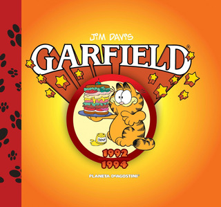 Garfield 1992-1994 Nº 08 De Jim Davis - Comics