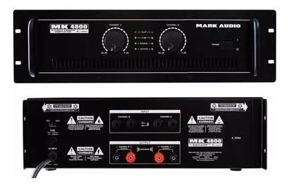 Amplificador Potência Mark Audio -mk4800 600w