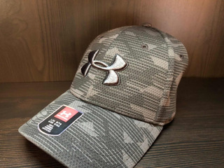 Gorra Under Armour 100% Original Camo Negro Gris Talla L/xl