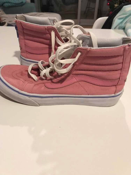 Zapatillas Vans Rosas Botita