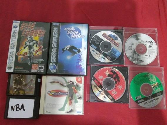Lote De Jogos Sega Saturn Dreamcast E Mega Drive