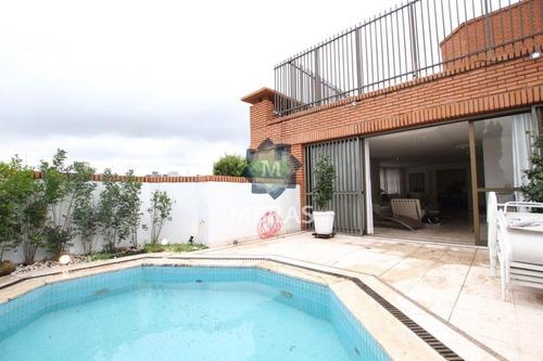 Maravilhosa Cobertura Duplex No Baixo Jardins ?com A Vista Permanente Mais Bonita Do Jardim Europa. - Mb10338