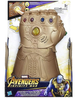 Guante Thanos Hasbro Avengers Infinity Luces Sonidos Marvel