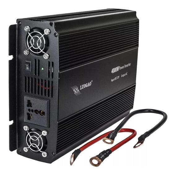 Inversor Tensão 4000w 12v Para 220v Transformador Conversor