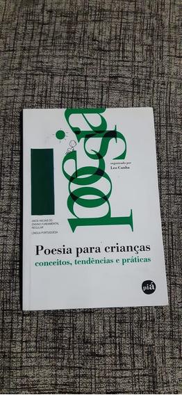 Poesia Para Crianças Conceitos, Tendência E Práticas - Leo