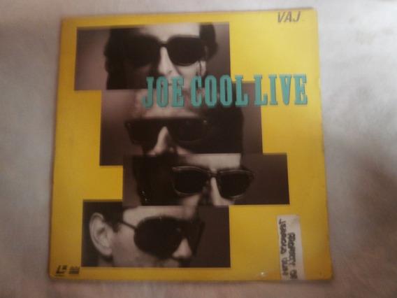 Ld Laser Disc - Joe Cool Live, Rock Internacional, 1985 Raro