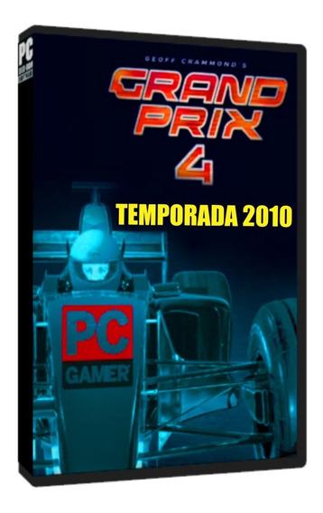 Grand Prix 4 (temporada 2010 Mod) - Pc Dvd - Frete 8 Reais
