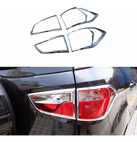 Imagen 1 de 4 de Kit Cromado El Mas Completo Ford Ecosport 13-15 15 Piezas