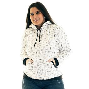 Blusão Moletom Canguru Plus Size 36523