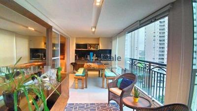Apartamento Com 4 Dormitórios À Venda, 178 M² Por R$ 1.250.000 - Vila Ema - São José Dos Campos/sp - Ap1764